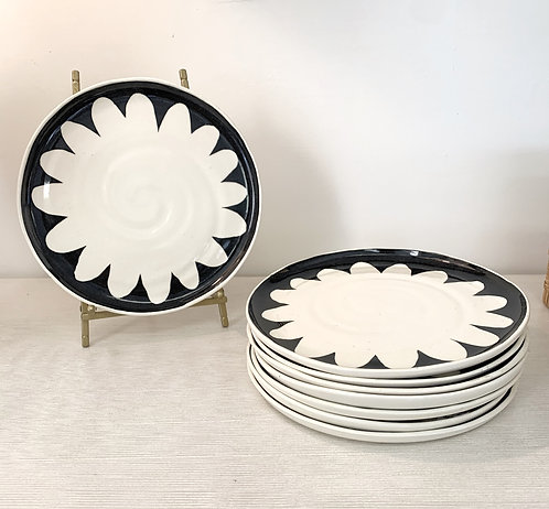 Handmade Flower Plates