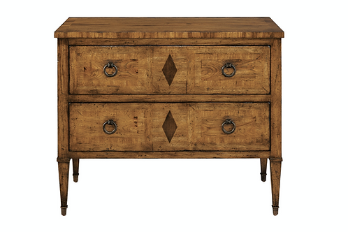 Knotty Pecan 2-Drawer Dresser