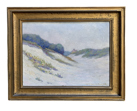 Antique Painting with Gold Frame