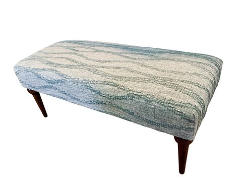 Custom Kathy Ireland Fabric Bench