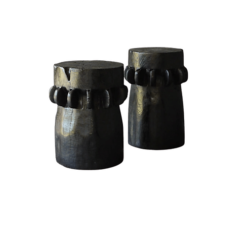 Black Gear Stool