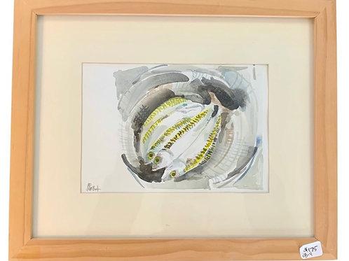 Fish In Watercolor