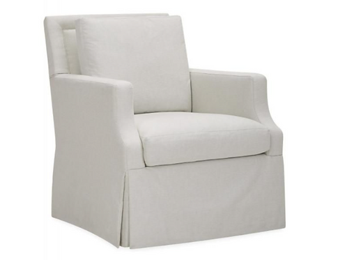 Swivel Glider with Contrast Welt