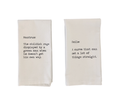 Exclusive Cheeky Definition Napkins