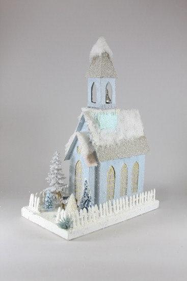 Ice Blue Church