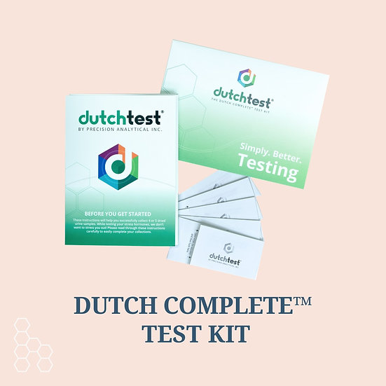 The DUTCH Complete™ Hormone Test + Customized Report + Consultation
