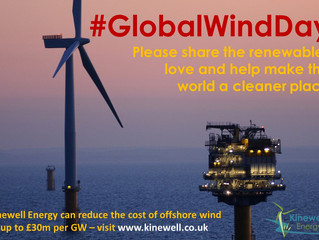 Kinewell Energy celebrates #GlobalWindDay