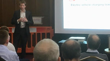 Andrew presents to IMechE