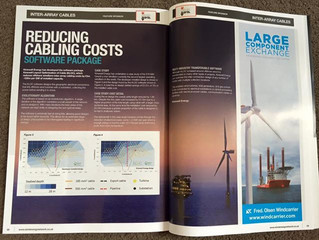 Kinewell Energy featured in Wind Energy Network magazine
