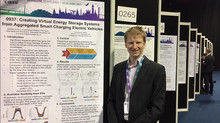 Andrew presents at CIRED 2017