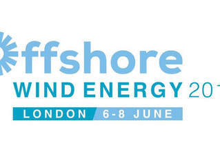 Andrew attends Offshore Wind Energy 2017