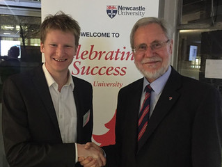 Celebrating success at Newcastle University