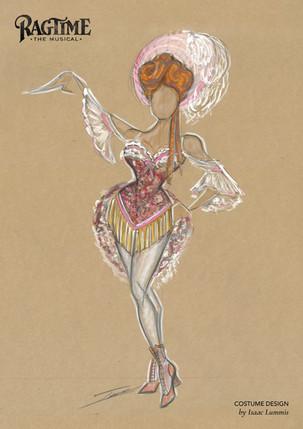 Ragtime Costume Illustration