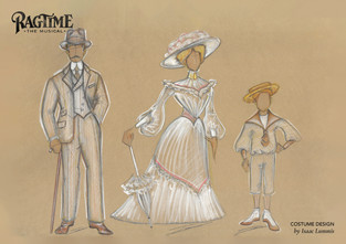 Ragtime Costume Illustration