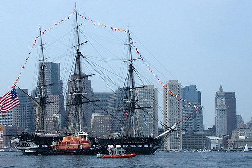 Boston Harbor Cruises Constitution Cruises & Freedom Trail Walk Into History To