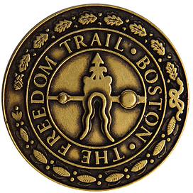 Freedom Trail Medallion Magnet