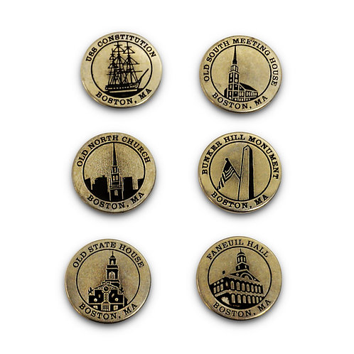 Freedom Trail Site Coins