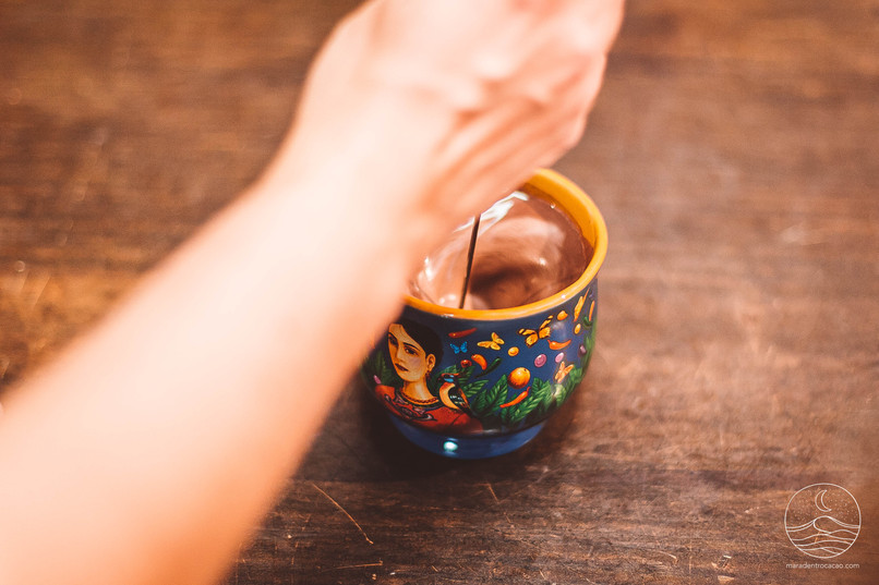 ©MarAdentro - Cérémonies Cacao Photographe: Alexandra La Meir