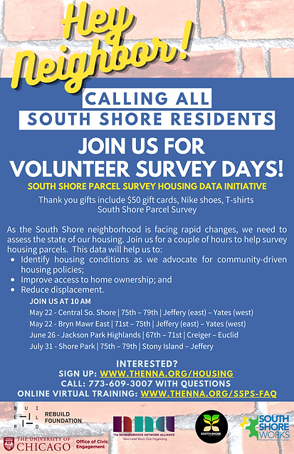 Calling all South Shore residents join u
