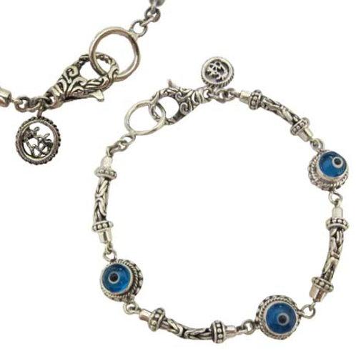 Byzantine Evil Eye Bracelet