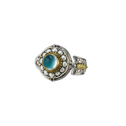 Baroque Round Ring