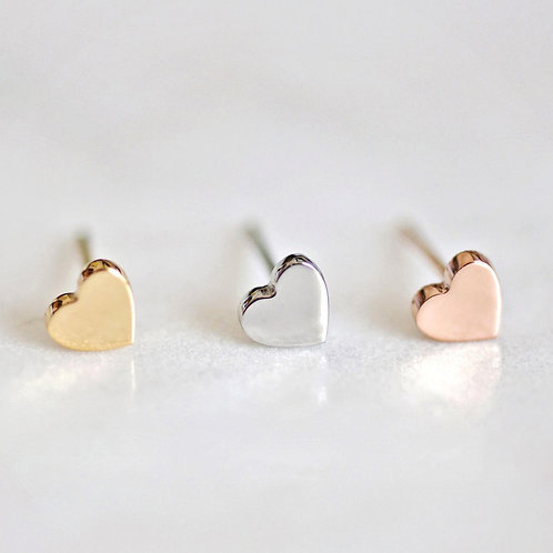 Serdig Heart Earrings