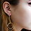 Thumbnail: Eva Nested Hoop Earrings