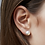 Thumbnail: Oyster Stud Earrings