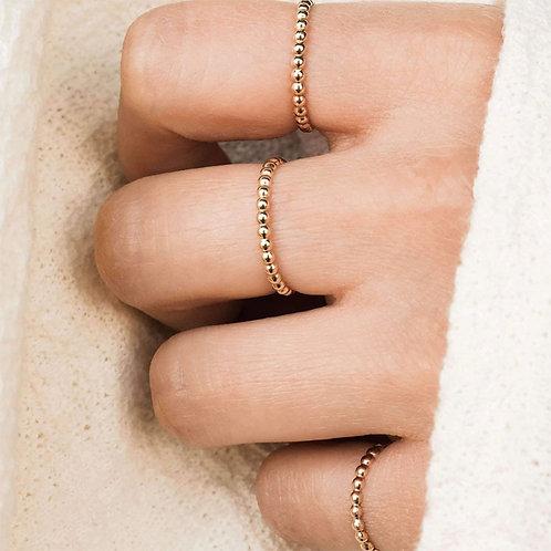 Infinity Beaded Ring