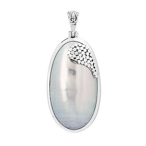 Nature's Elegant Mother of Pearl Pendant