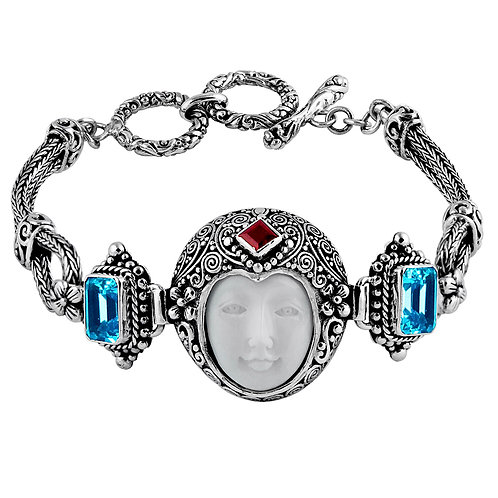 Moon Face Bracelet