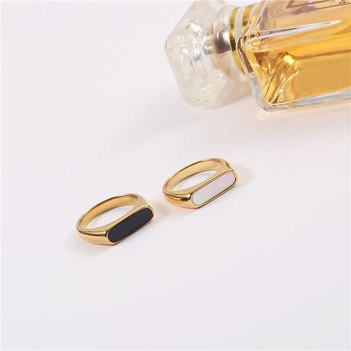 Elisa Ring - Black Onyx