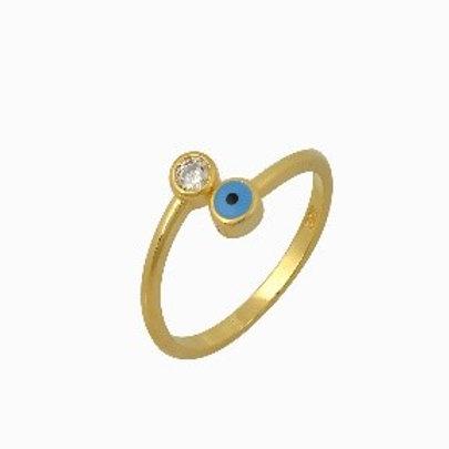 Stackable Evil Eye Ring