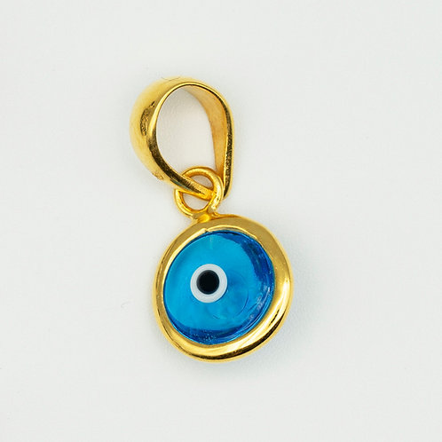 Evil Eye Pendant Gold Plated