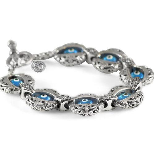 Seven Day Evil Eye Bracelet