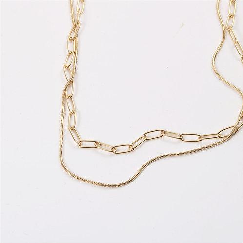 Cheryl Double Strand Necklace.