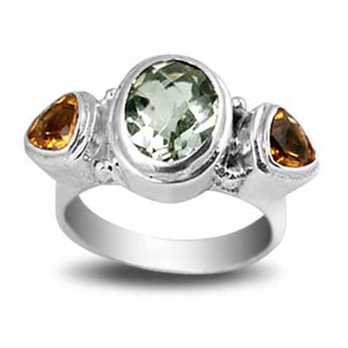 Trio Gem Ring