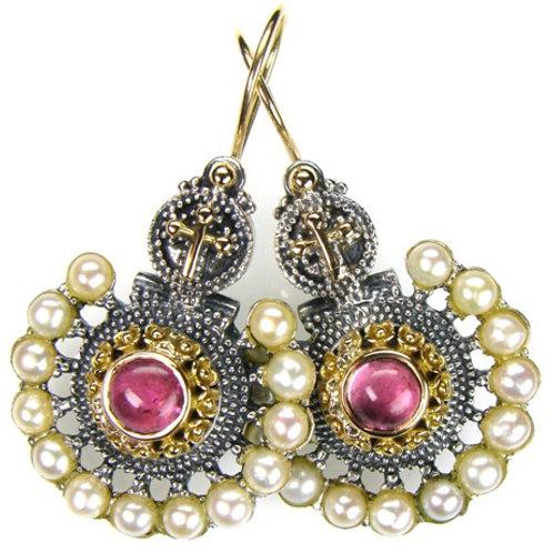 Baroque Fan Earrings