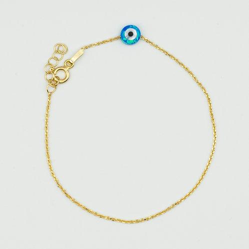 Opal Evil Eye Bracelet