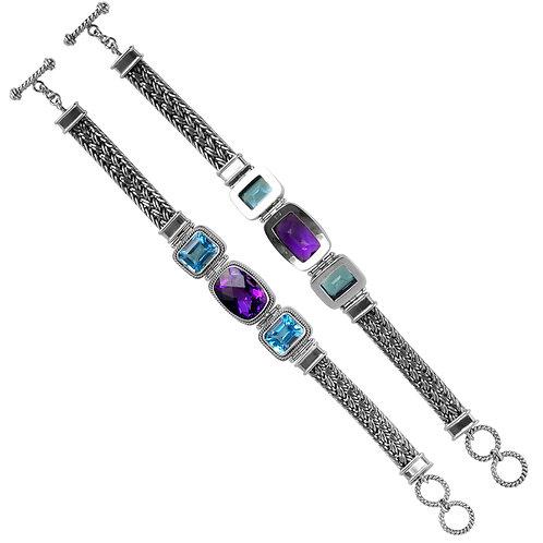 Triple Center Bracelet