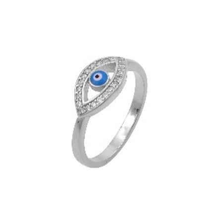 Evil Eye Amulet Ring