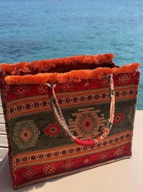Shushi Woven Tote Bag.