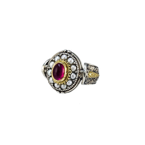 Baroque Oval Ring
