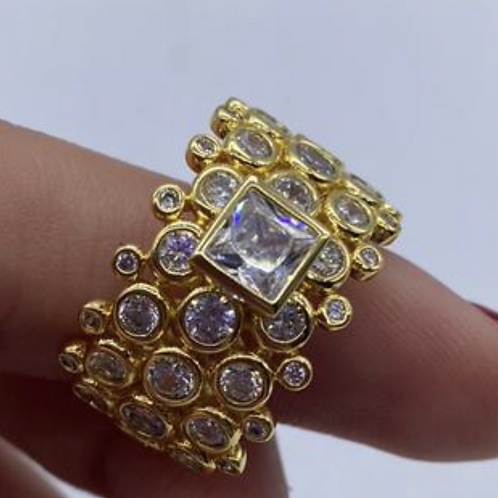 Florence Cluster Ring.