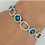 Thumbnail: Deco Link Evil Eye Bracelet