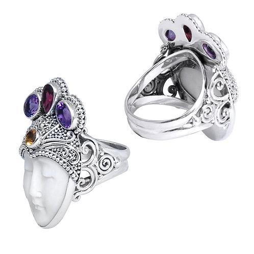 Regal Crown Ring