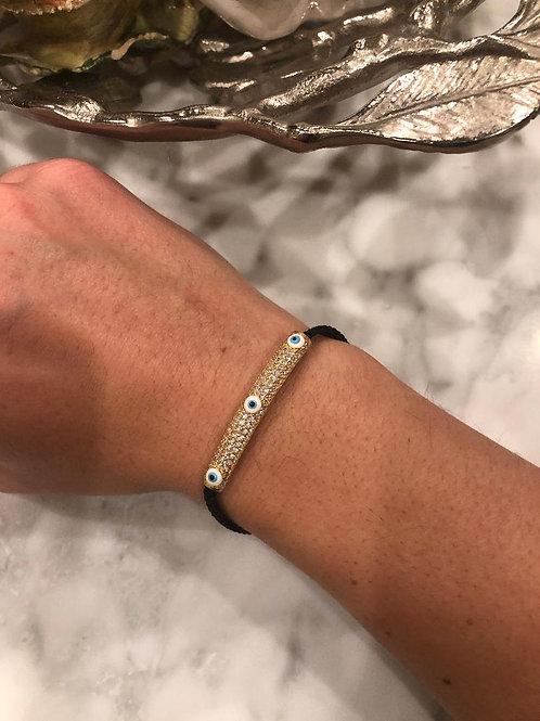 Lana Pave Evil eye Bracelet