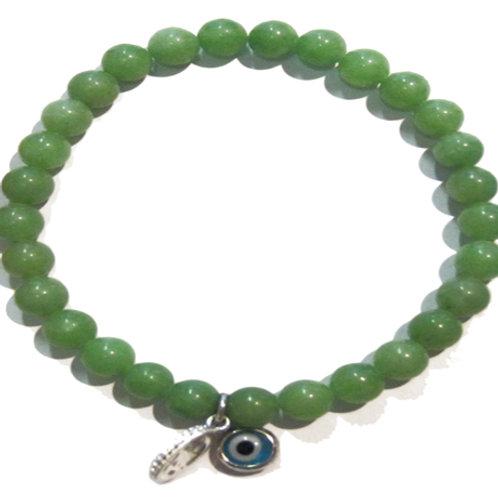 Beaded Evil Eye Bracelet