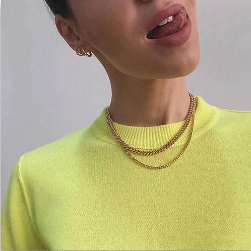 Santiago Cuban Link Necklace.