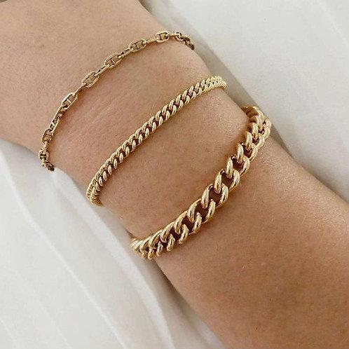Marlin Stout Link Bracelet.